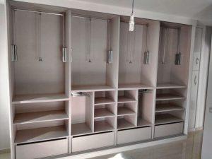armario empotrado en costruccion