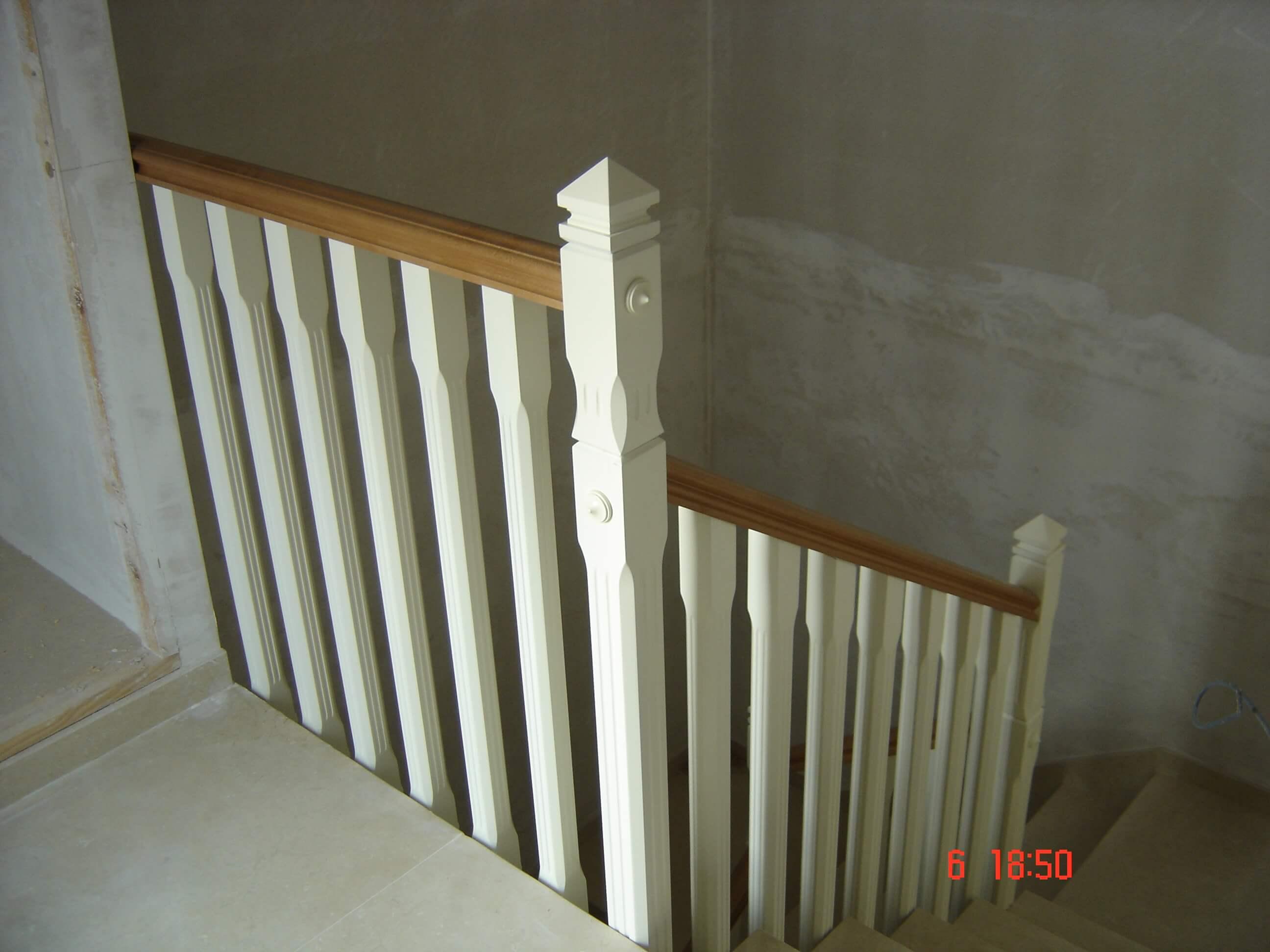 Barandillas de madera barandilla de madera exterior with - Barandillas madera exterior ...
